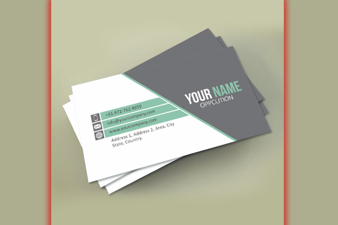 One Sided Business Card Lexoft Media Limited