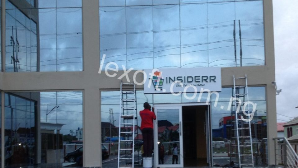 Out Door Signage for Insiderr