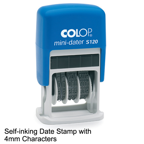 self ink date stamp