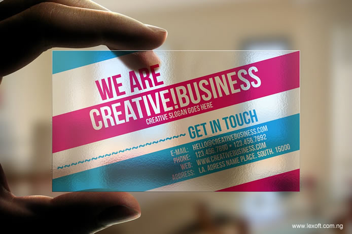 Lexoft media limited plastic business cards nigeria 09080906018 plastic business card design printing reheart Choice Image
