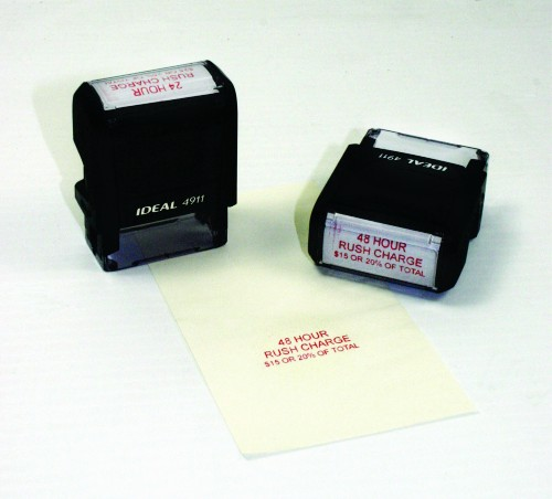 self ink stamp